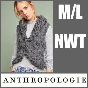 NWT M/L Alpaca Vest